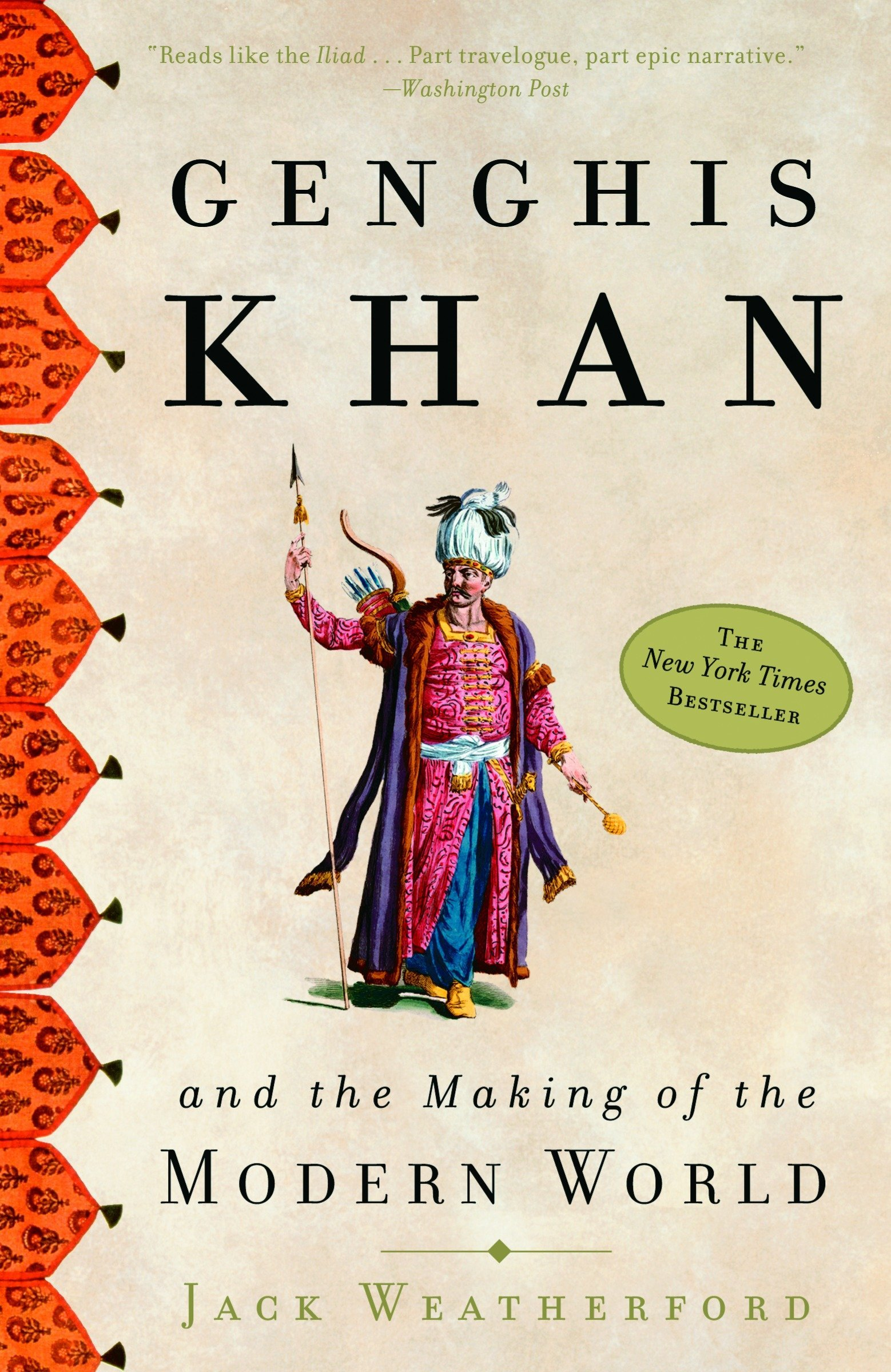 What I read - Genghis Khan and the Making of the Modern World cover image
